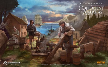 Обои с игры Commander: Conquest of the Americas