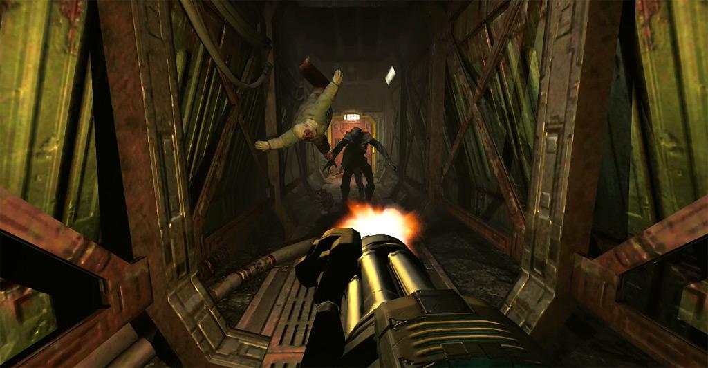 Doom 3 bfg edition серый экран